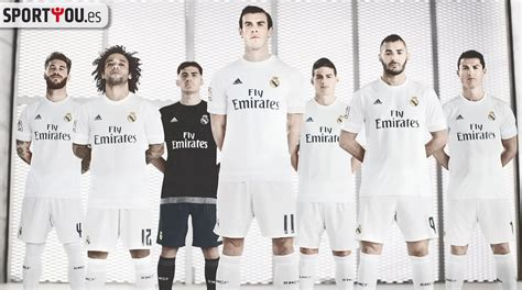 imagenes de real madrid 2016 la nueva camiseta del real madrid para la temporada 2015