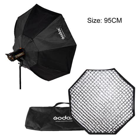 Godox Softbox Size 95cm Bowens Mount Speedring Studio godox 37 quot 95cm grid honeycomb octagon softbox with bowens mount speedring in photo studio