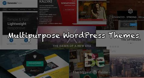 want to save money free wordpress themes help you mick 25 best multipurpose wordpress themes free and paid