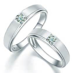 Home engagement rings couple rings satin finish couples diamond