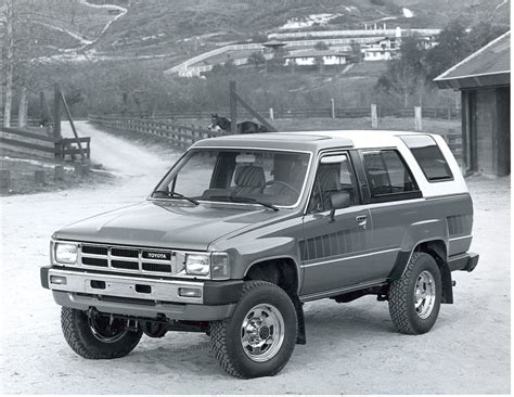 Toyota Suv 1980 Was The Toyota 4runner The Best Suv Of The 80s