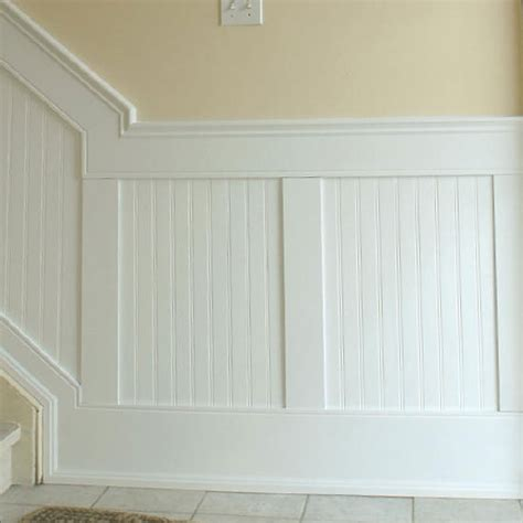 bathroom wainscoting panels beadboard panel wainscoting kit for the home pinterest