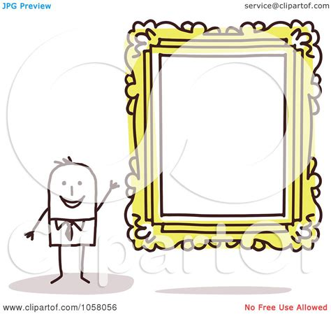 Frame Clipart 1208054 Illustration By royalty free vector clip illustration of a stick