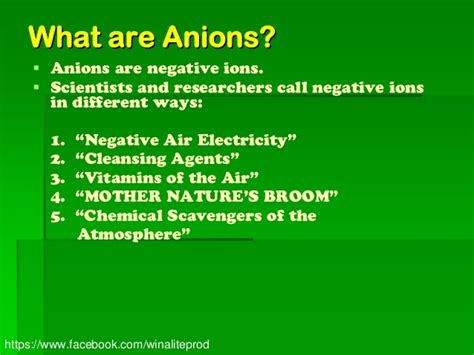Anion Day By all about negative ion anion