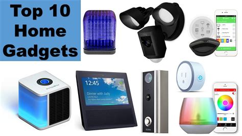 smart home technologies and gadgets for your home water io top 10 smart home tech devices of 2017 best home gadgets