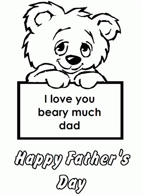 Happy Fathers Day Pictures To Color happy fathers day coloring page az coloring pages