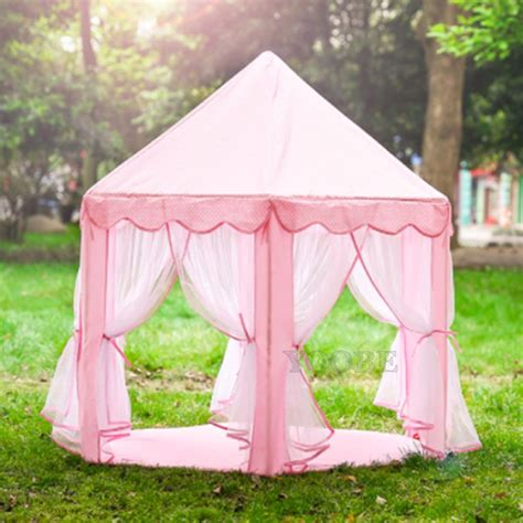 play tents for princess castle tent large space children play tent for indoor outdoor pink playhouse