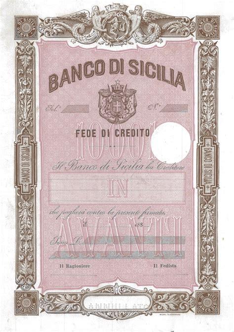 banco di sicilia palermo banco di sicilia scripomuseum
