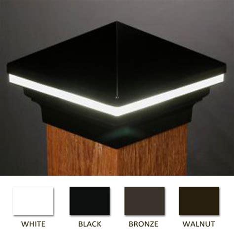 low voltage deck post lights iris led low voltage deck light 6x6 wood posts