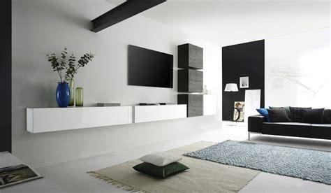 Moderne Wohnzimmer Designs by Wohnwand Modern Wei 223
