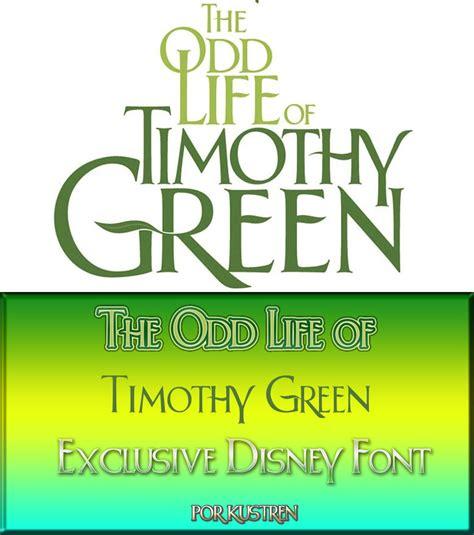 Font Green timothy green font por kustren by kustren on deviantart