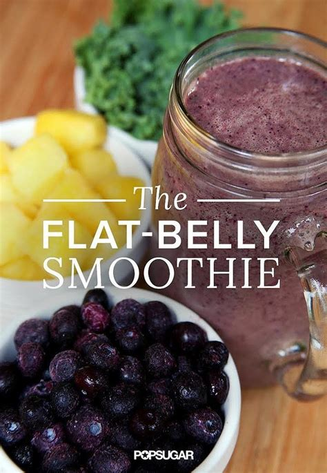 Belly Burning Detox Recipe by Best 25 Flat Belly Smoothie Ideas On