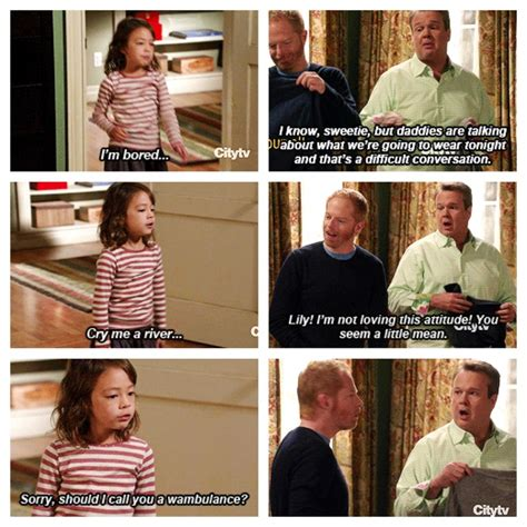 Modern Family Memes - should i call you a wambulance oh lily modernfamily