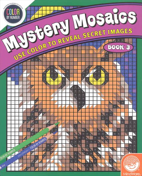 mosaic 3 workbook mystery mosaics book 3 037210 details rainbow resource center inc