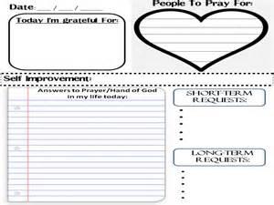 prayer journal template planner design your own prayer journal sheets prayer
