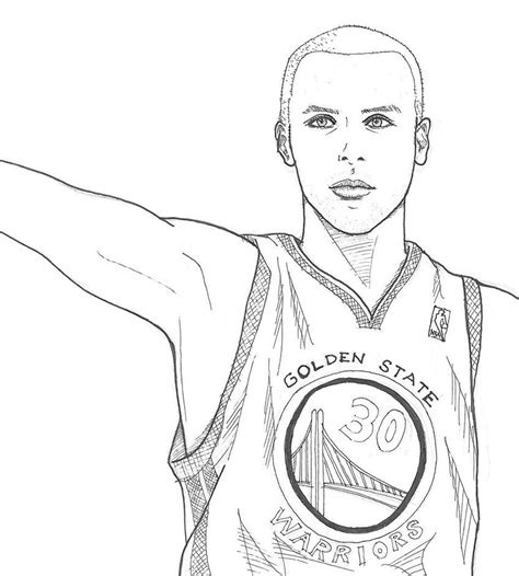 Curry 4 Sketches by Stephen Curry By Smallwaterfish Things To Draw