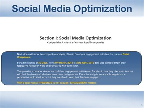 Sle Social Media Analysis Report Media Analysis Report Template