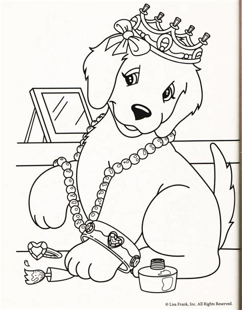 pictures of lisa frank coloring pages is this dog really painting her nails lisa frank party