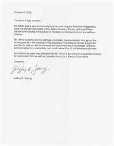 estate distribution letter template r winer attorney at st petersburg fl ta fl