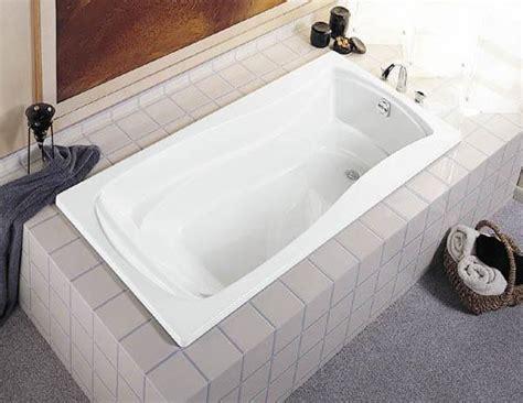 kohler drop in bathtubs kohler 1242 mariposa drop in tub lowe s canada