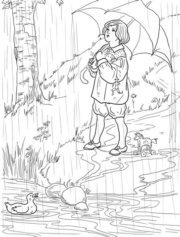 coloring pages for rain rain go away rain rain go away coloring page coloring pages