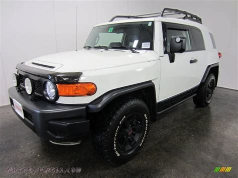toyota cruiser white 2008 toyota fj cruiser trail teams special edition 4wd in