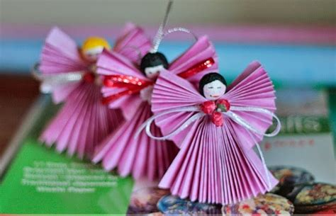 Arts And Crafts Ideas With Paper - paper craft ornament ideas creative and