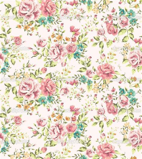 Classic Wallpaper Vintage Flower Pattern Background | vintage flowers wallpapers wallpaper cave