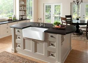 kitchen island with sink new blanco farm sink for contemporary kitchens
