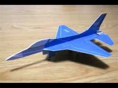 Origami Fighter Jet - origami paper origami f22 raptor stealth how to make