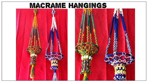 How To Start Macrame - how to make macrame hangings easy to make design 2