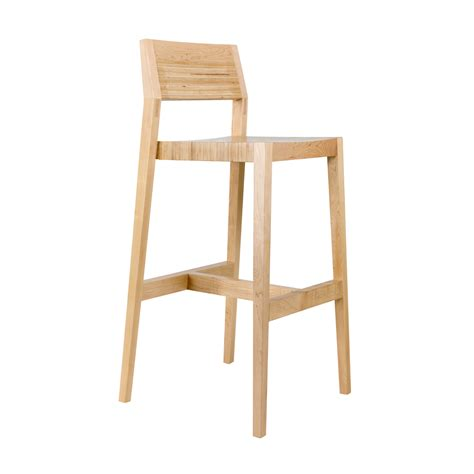 Birch Wood Bar Stools by Stools Design Glamorous Wooden Stools With Back Wooden