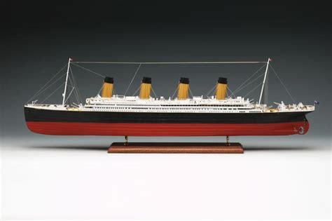 Home Theater Is A Titanic Replica by Amati Titanic 1912 1 250 Kit To Build Model Shop Leeds