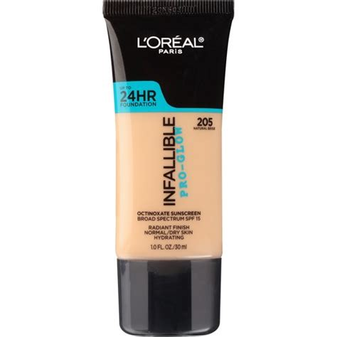 Shoo Loreal Professional l oreal 174 infallible pro glow foundation 205 beige 1 fl oz target