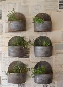 Wall Herb Garden by Insanely Cool Herb Garden Container Ideas