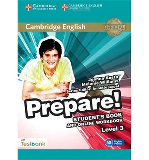 cambridge english prepare level 3 student s book and online workbook with testbank level 3