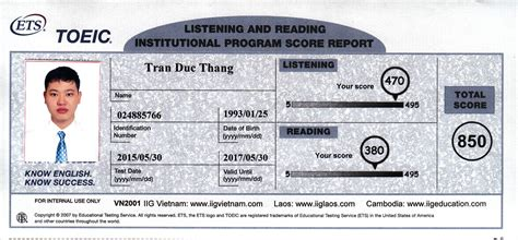 toeic test toeic test course trung t 226 m tiếng anh tại tphcm
