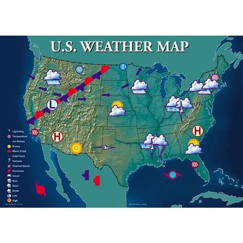 interactive map of usa weather interactive weather map bulletin board set science ideas
