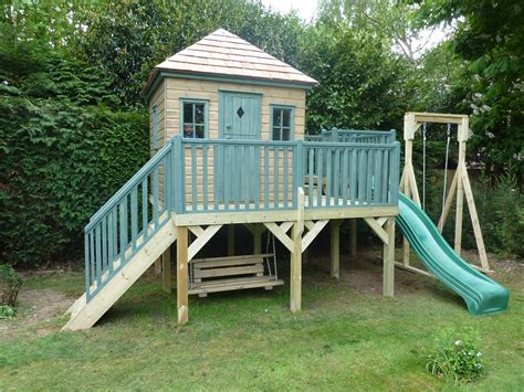 childrens wooden swings and slides childrens wooden playhouse treehouses the playhouse
