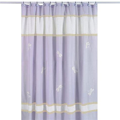 sweet jojo designs curtains buy sweet jojo designs dragonfly dreams shower curtain in