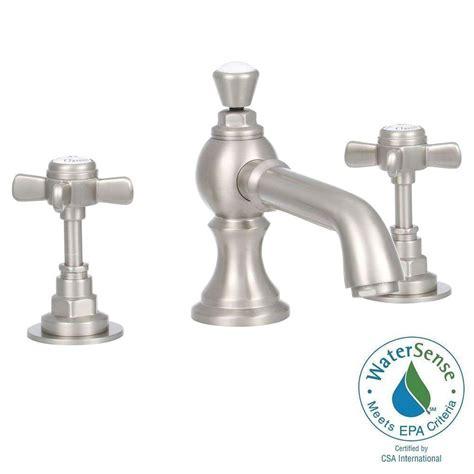 elizabethan satin brass widespread faucet widespread