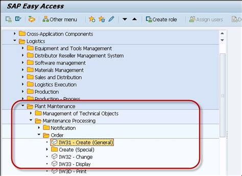 tutorial sap pm sap pm creating planning mo