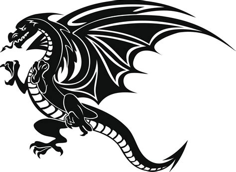 black dragon tattoo tattoos for