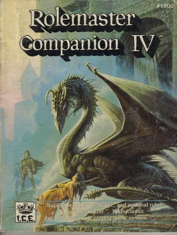 Rolemaster Companion 3 product page 171 icewebring