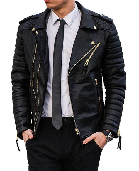 black and gold motorcycle jacket 26 best leather jacket fashion images on