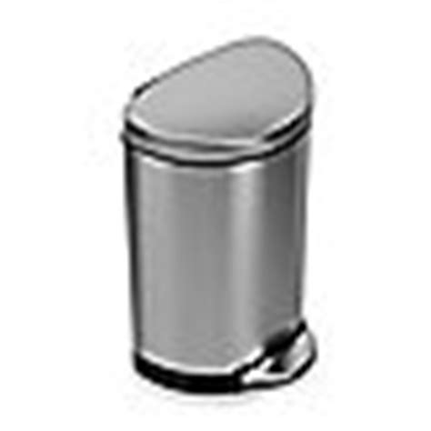 Proof Bathroom Trash Can by Simplehuman 174 Brushed Stainless Steel Fingerprint Proof