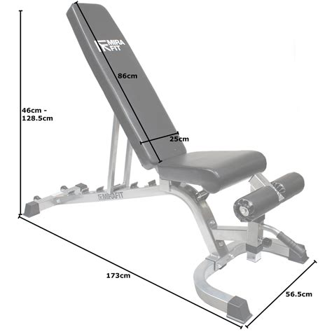 decline bench press angle mirafit adjustable fid flat incline decline weight bench