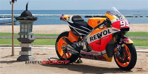 Baju Balap Honda Repsol Motogp sepeda motor balap marquez dan pedrosa diresmikan di indonesia