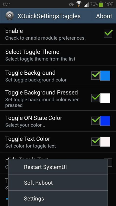 changing themes samsung galaxy s4 how to customize the quick settings toggles on your