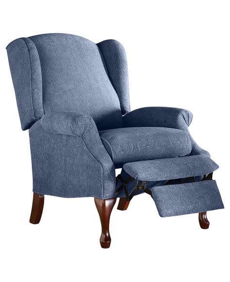 Andy recliner chair queen anne style chairs furniture macys furniture pinterest